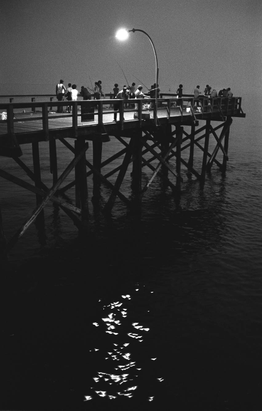 Copy of Steeplechase Pier with Twilight Sparkles (Coney Island, New York), 1974