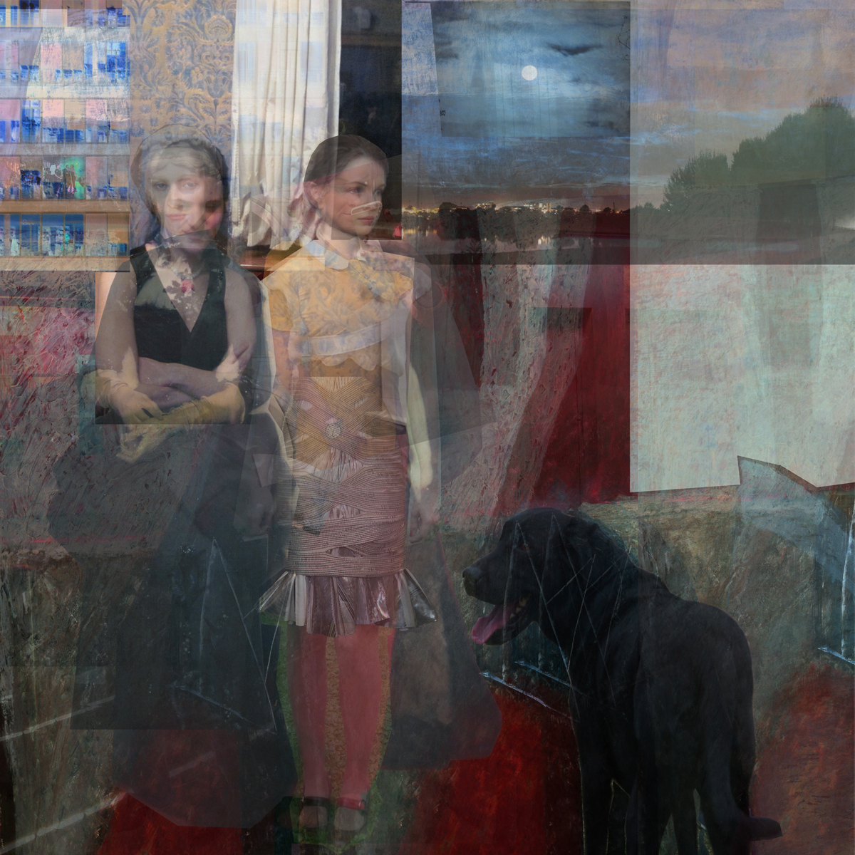 """Catherine Balet, """"Moods in a Room"""", Courtesy Galerie Thierry Bigaignon"""