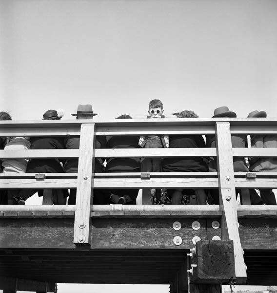 Harold Feinstein - Boy with Sunglasses, 1950