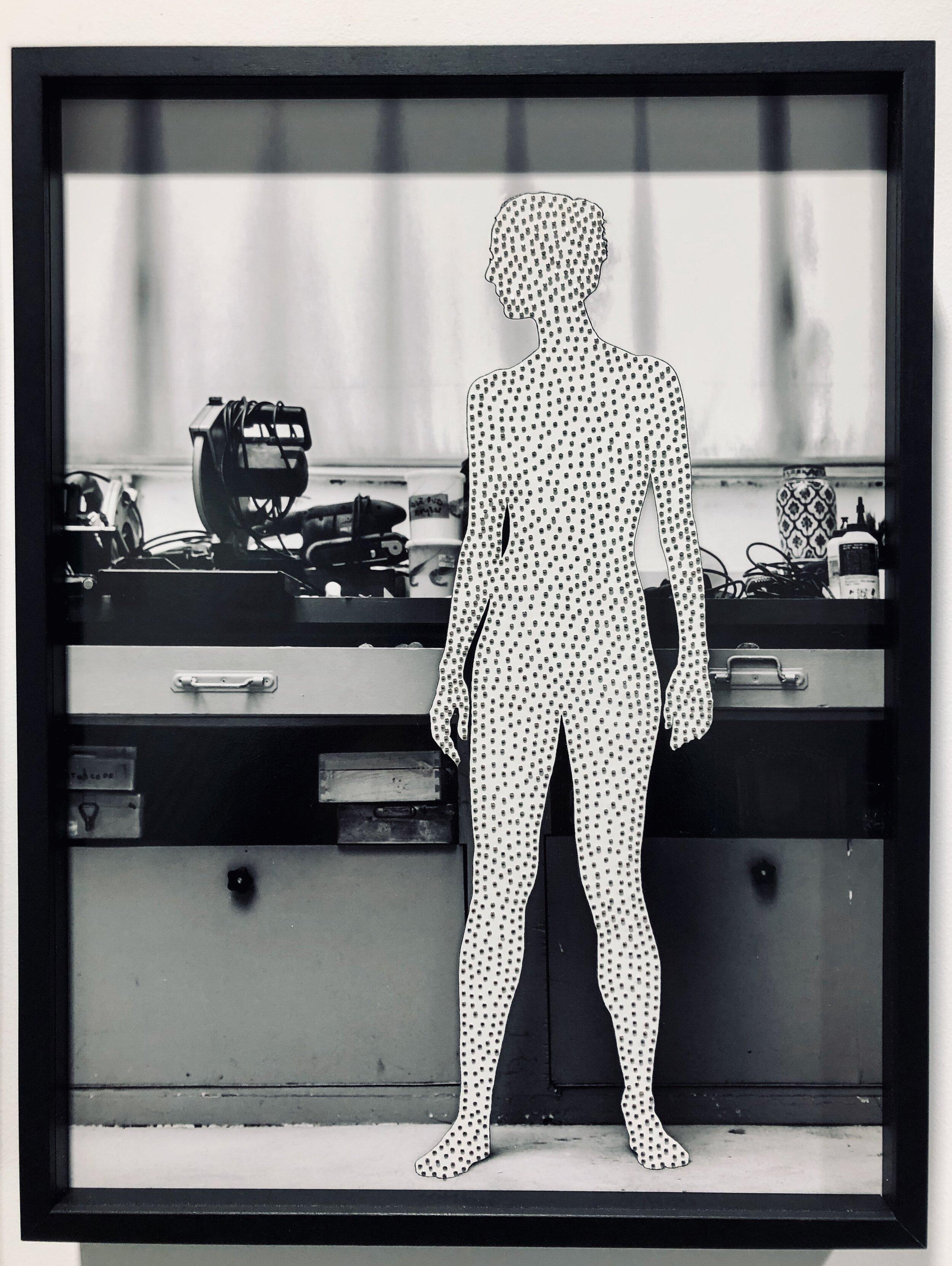 Henri Foucault - H dans l'atelier 1, 2019
