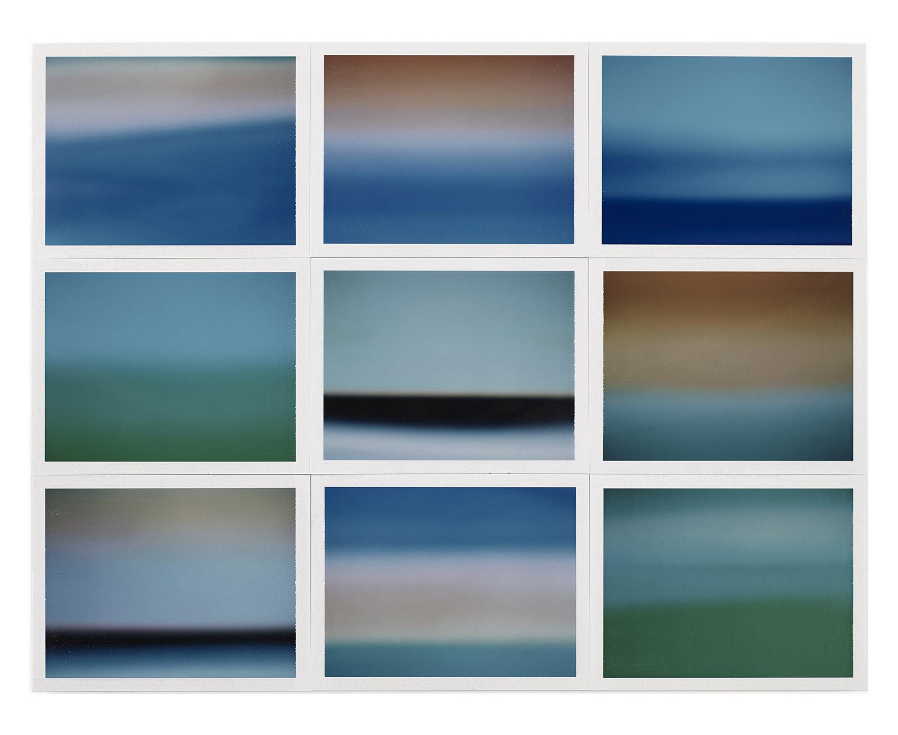 Thomas Paquet - Horizon, étude couleur #1, 2015