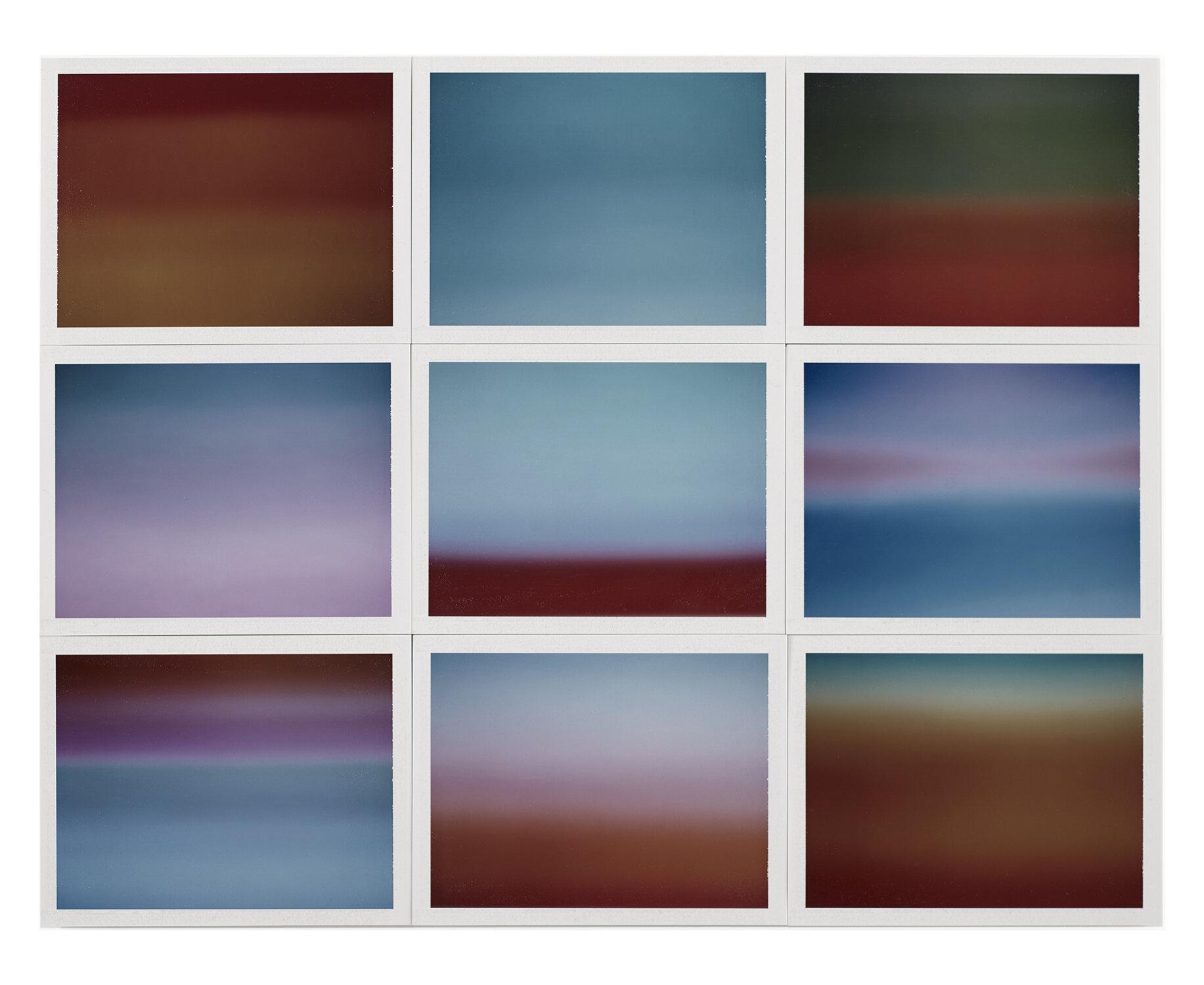 Thomas Paquet - Horizon, étude couleur #5, 2015