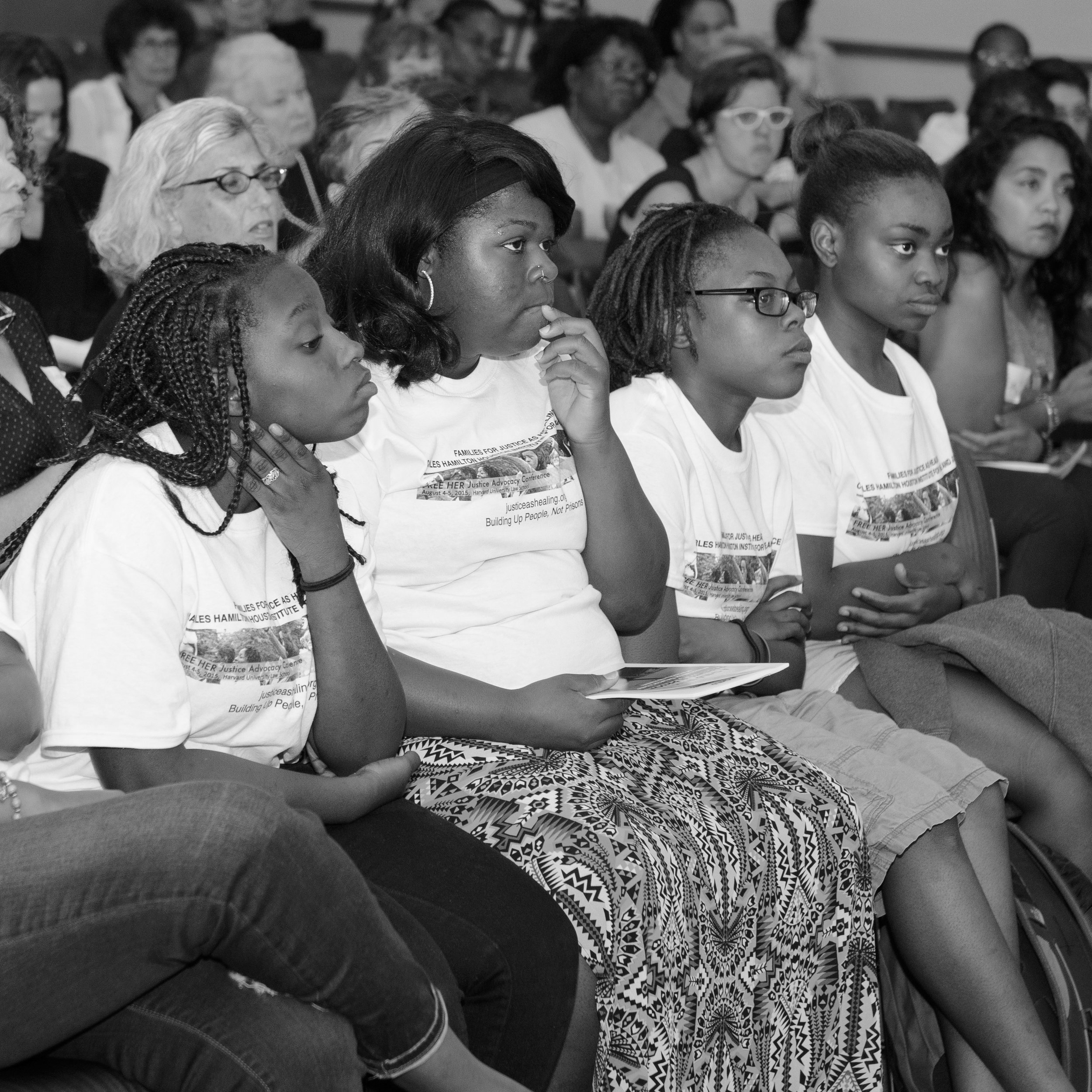 FREE HER Conference - 2015 CampaignSU attended the FREE HER conference. This is an annual conference that brings together powerful leaders from across the country who are formerly incarcerated women, family members of the incarcerated, and grassroots organizers.