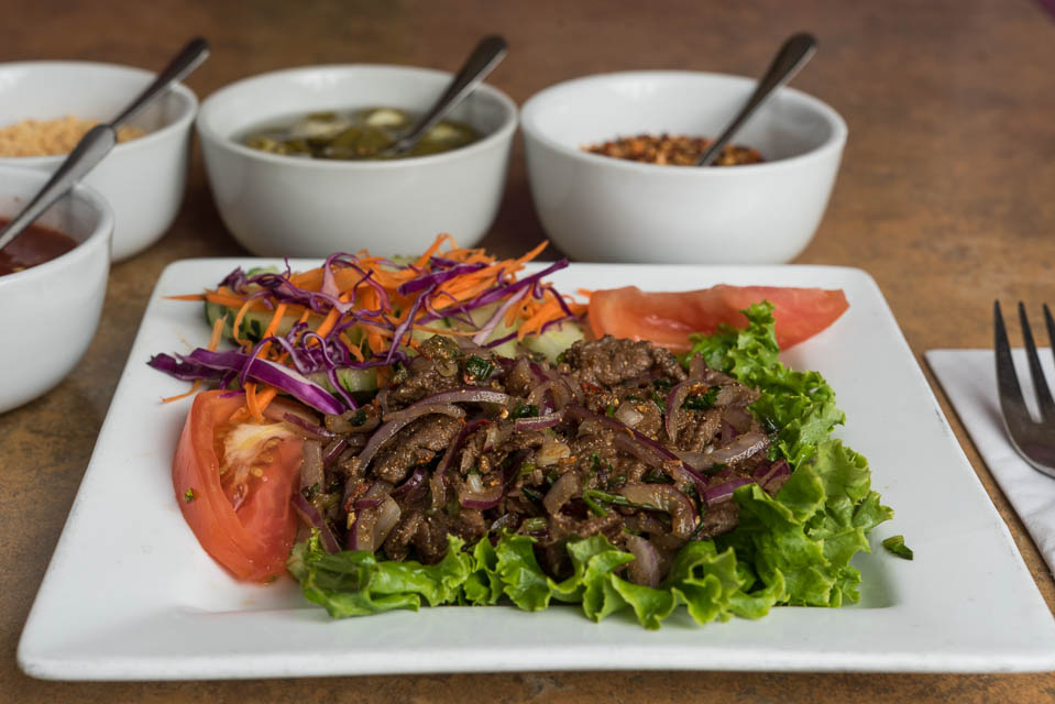 Namtok (Beef Salad)