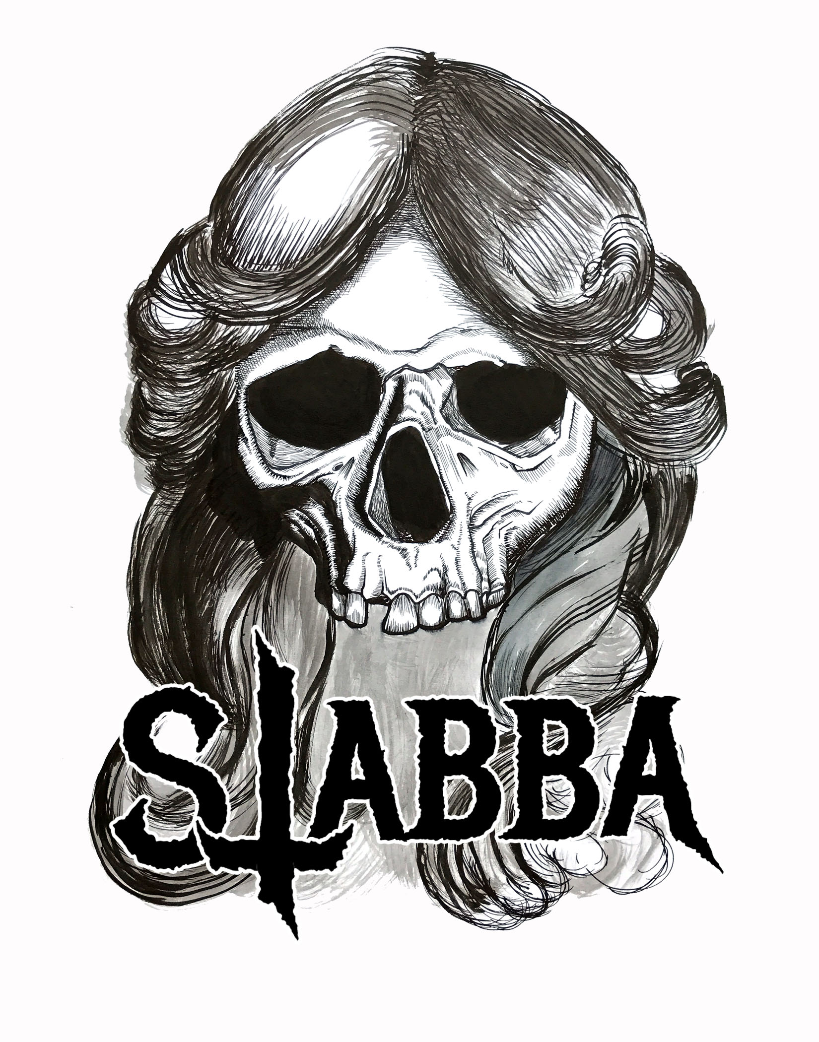 "Logo made for band ""Stabba"" out of Austin, TX"