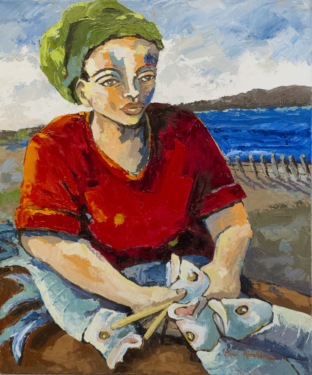 Fisherwoman, Hout Bay *SOLD*