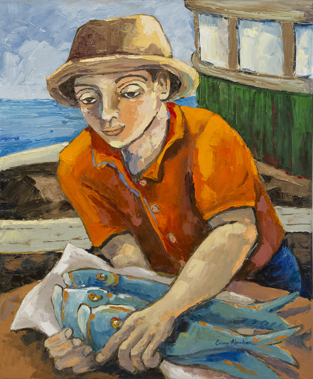 Fisherman, Hout Bay *SOLD*