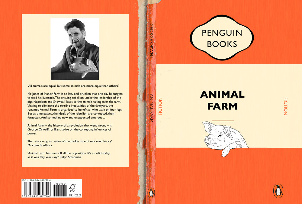 Animal Farm Cover Penguin Books Competition Lydia Maltby Illustration