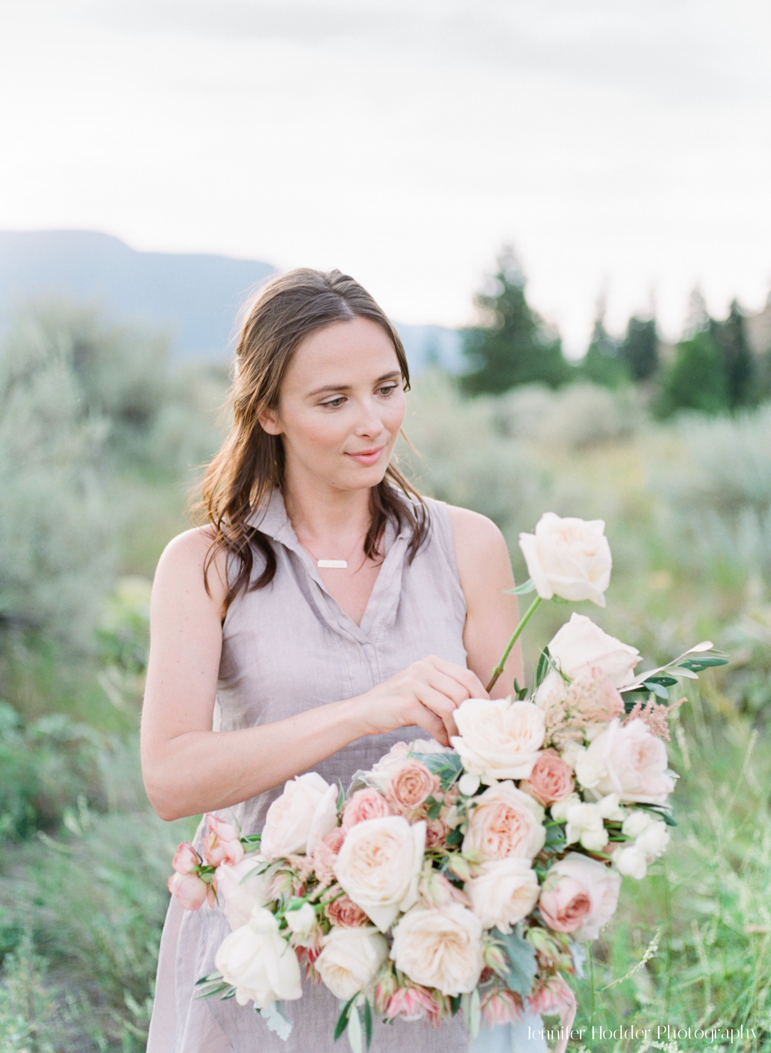 My story... - Although starting a floral business came later, my first love has always been flowers...My career transition began in the summer of 2017 when I flew to the English countryside for a workshop on small and large scale floral design, and I never looked back!My philosophy of a natural, soft and romantic style is brought to life through free flowing shapes of wildly romantic blooms, understated textural pieces and elegant foliage.My passion is to style and design an event unique to you that maintains a timeless aesthetic.Jane