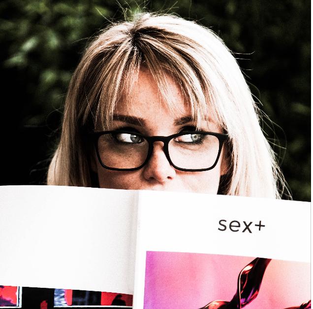 Caroline D'Arcy, Inti-Mate, Sex+ zine
