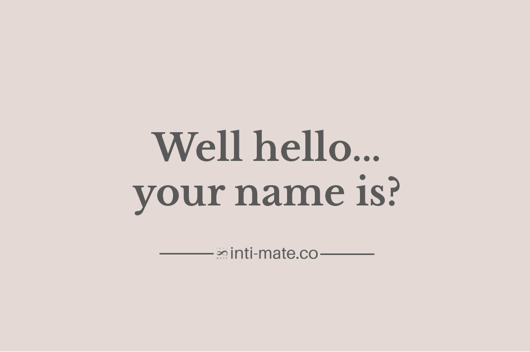 Inti-Mate Blog - What's in a name?