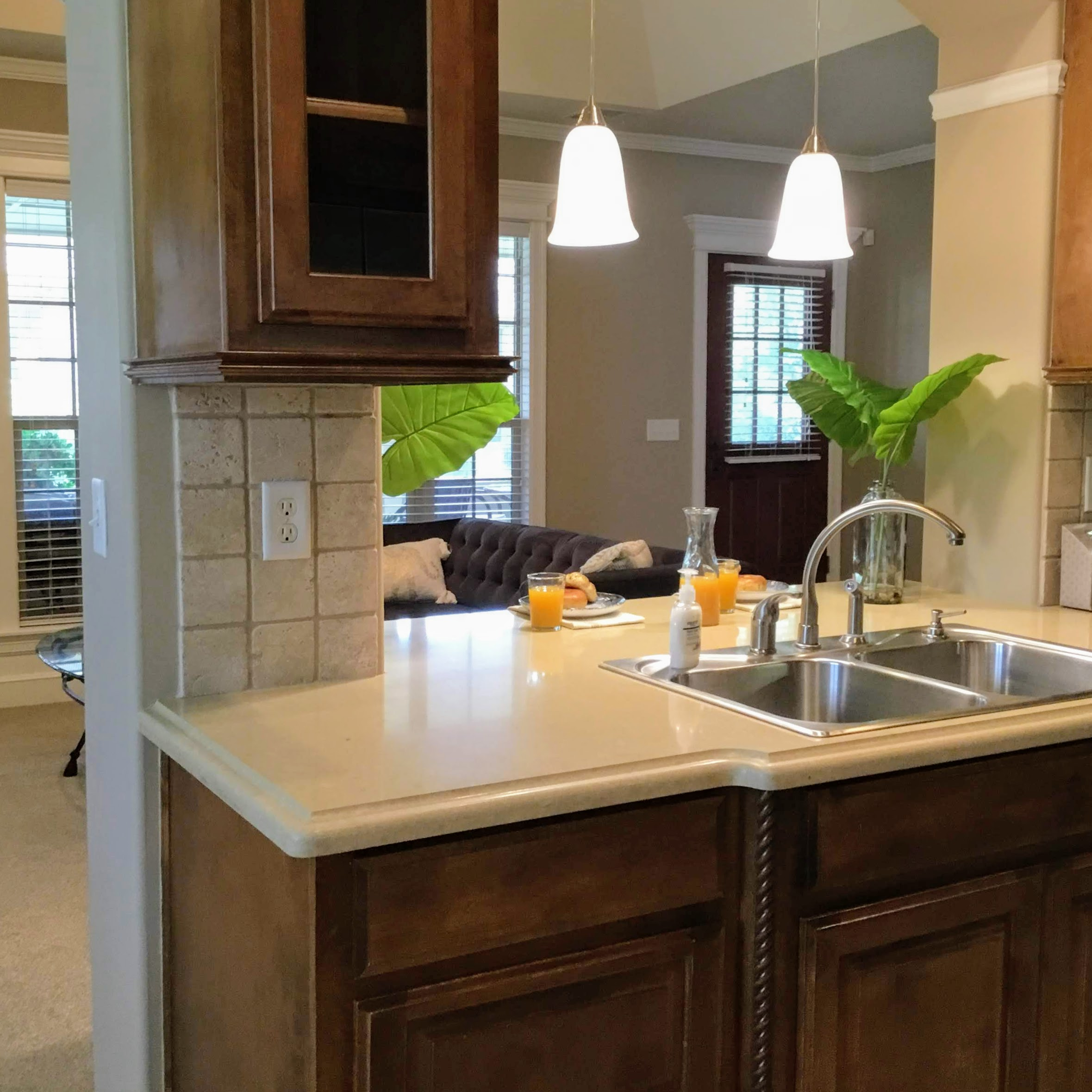 Staging Tulsa - Zarrow Pointe Villas Kitchen Sink 2.JPG
