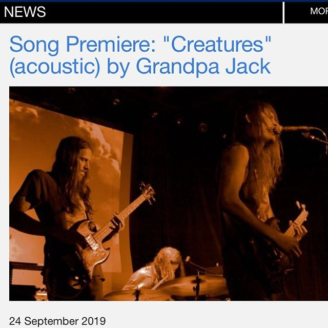 @grandpajackband dropping new fire. 🔥🔥🔥 The first single off their acoustic EP Staggered Steps is Creatures. Check out @bigtakeovermag to hear it! - - - ##grandpajack #grandpajackband #lostmoon #lostmoonrecords #indie #psychedelic #rocknroll #brooklyn #newyork #music #band ##lostmoonrecords #lostmoon #music #indie #indiemusic #instagram #instagood #moonstagram #newmusic #acoustic #psychacoustics