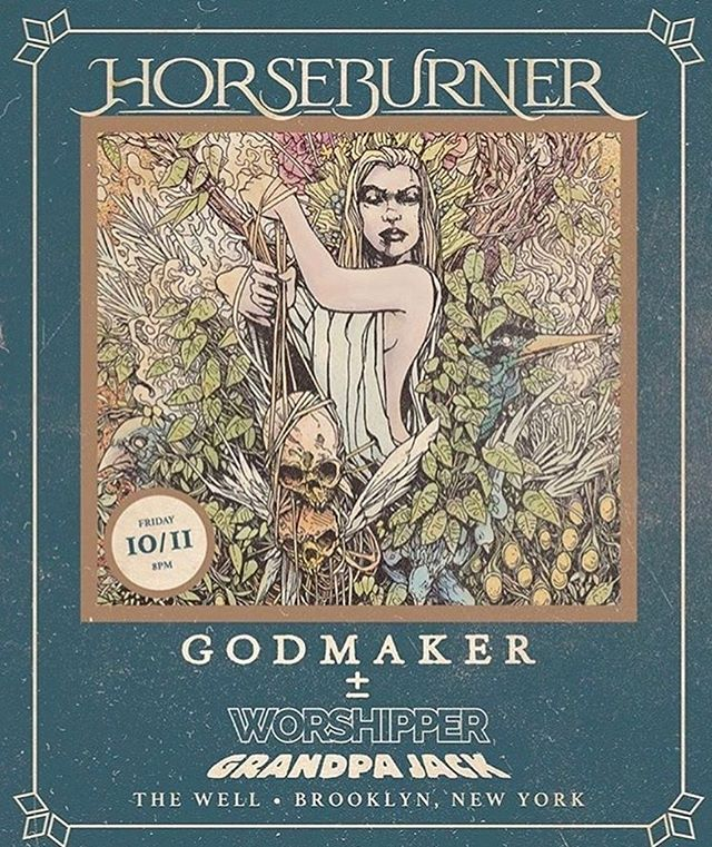 The homies @grandpajackband have a show @thewellbrooklyn tomorrow night with @horseburner @godmakerbk and @worshipperband You don't want miss it 🔥🔥🔥🤘👽👽👽 - - - #Lostmoonrecords #lostmoon #music #indie #indiemusic #instagram #instagood #moonstagram ##grandpajack #grandpajackband #lostmoon #lostmoonrecords #indie #psychedelic #rocknroll #brooklyn #newyork #music #band