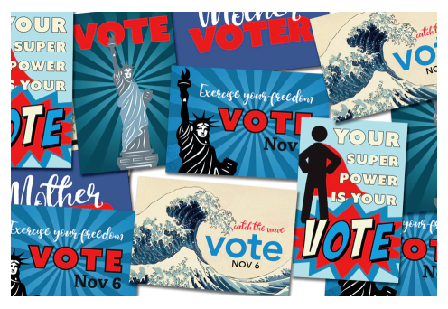 Postcards to voters — Northridge Indivisible
