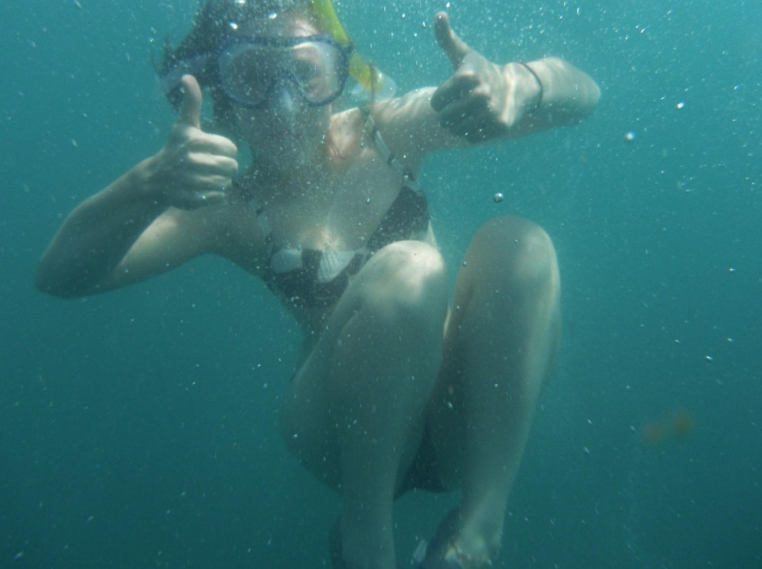 Snorkeling in the Arabian Sea