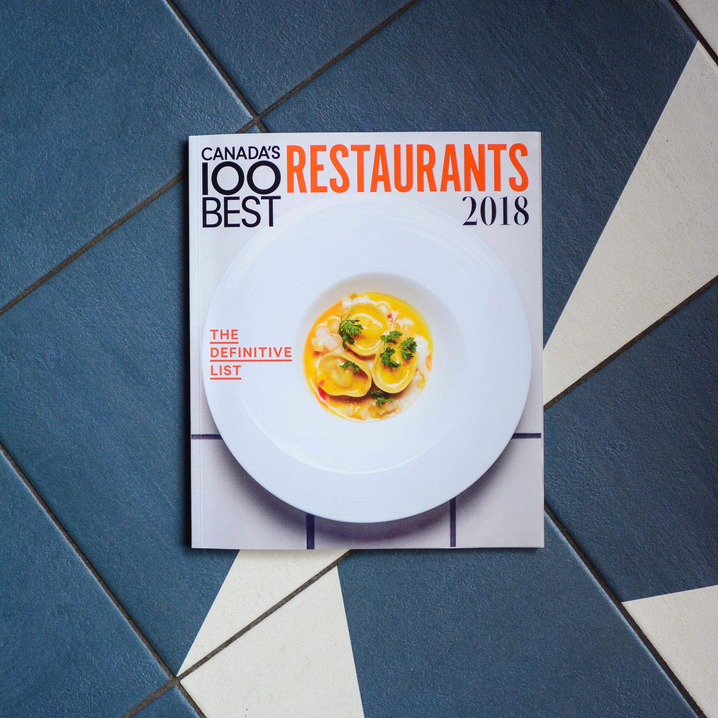 Under the Radar Restaurants - Canada's 100 Best