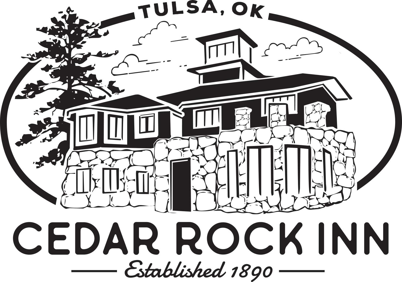 4501 West 41st Street, Tulsa, OK 74107 |  www.CedarRockInn.com