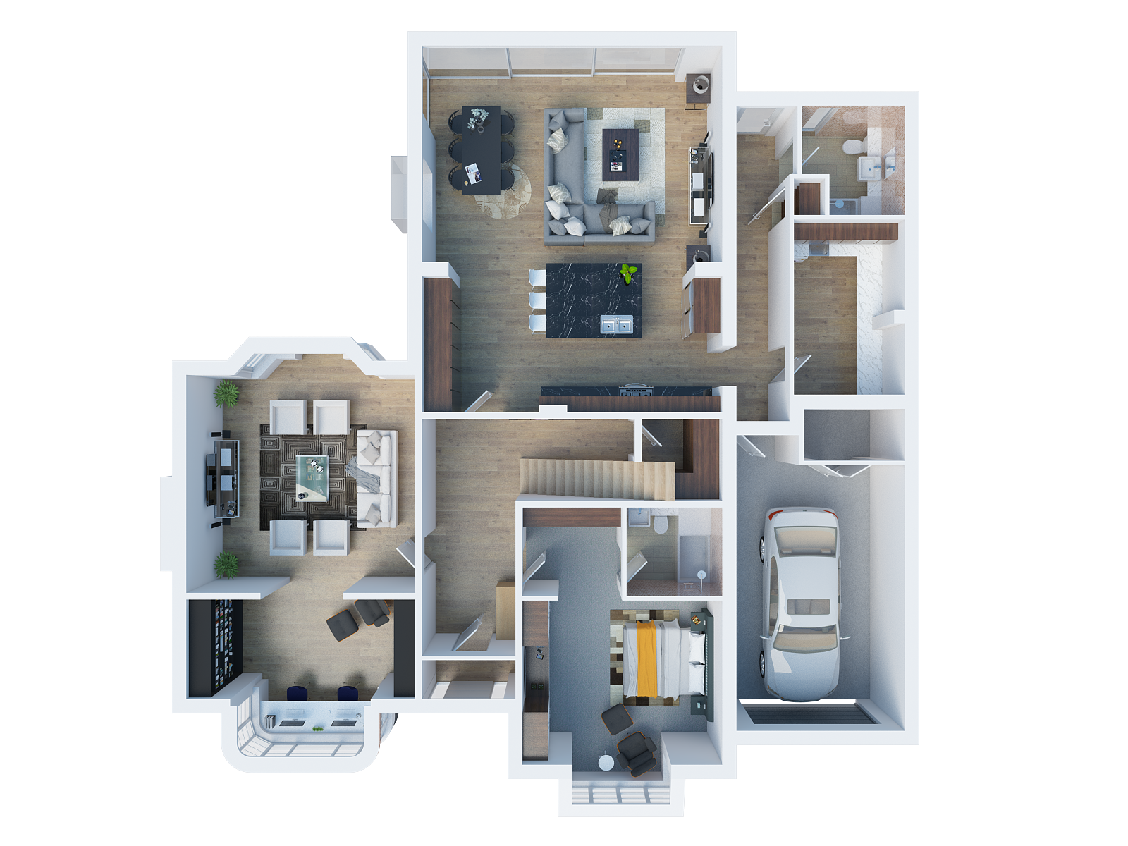 Architectural Desing in Goring First Floor 3D perpective Render.png