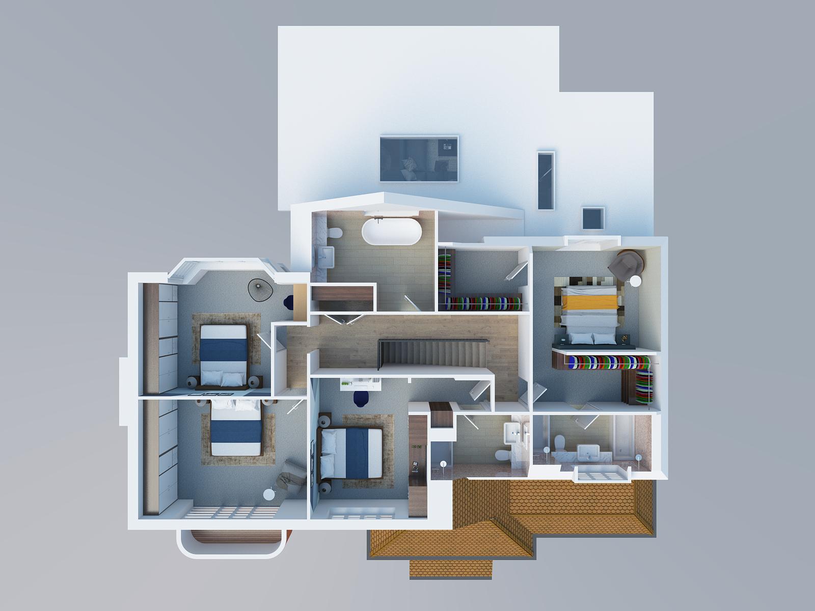 Architectural Desing in Goring First Floor 3D render.png