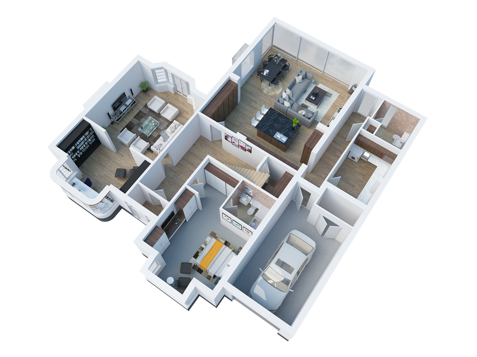 Architectural Desing in Goring Ground Floor 3D angled render.png