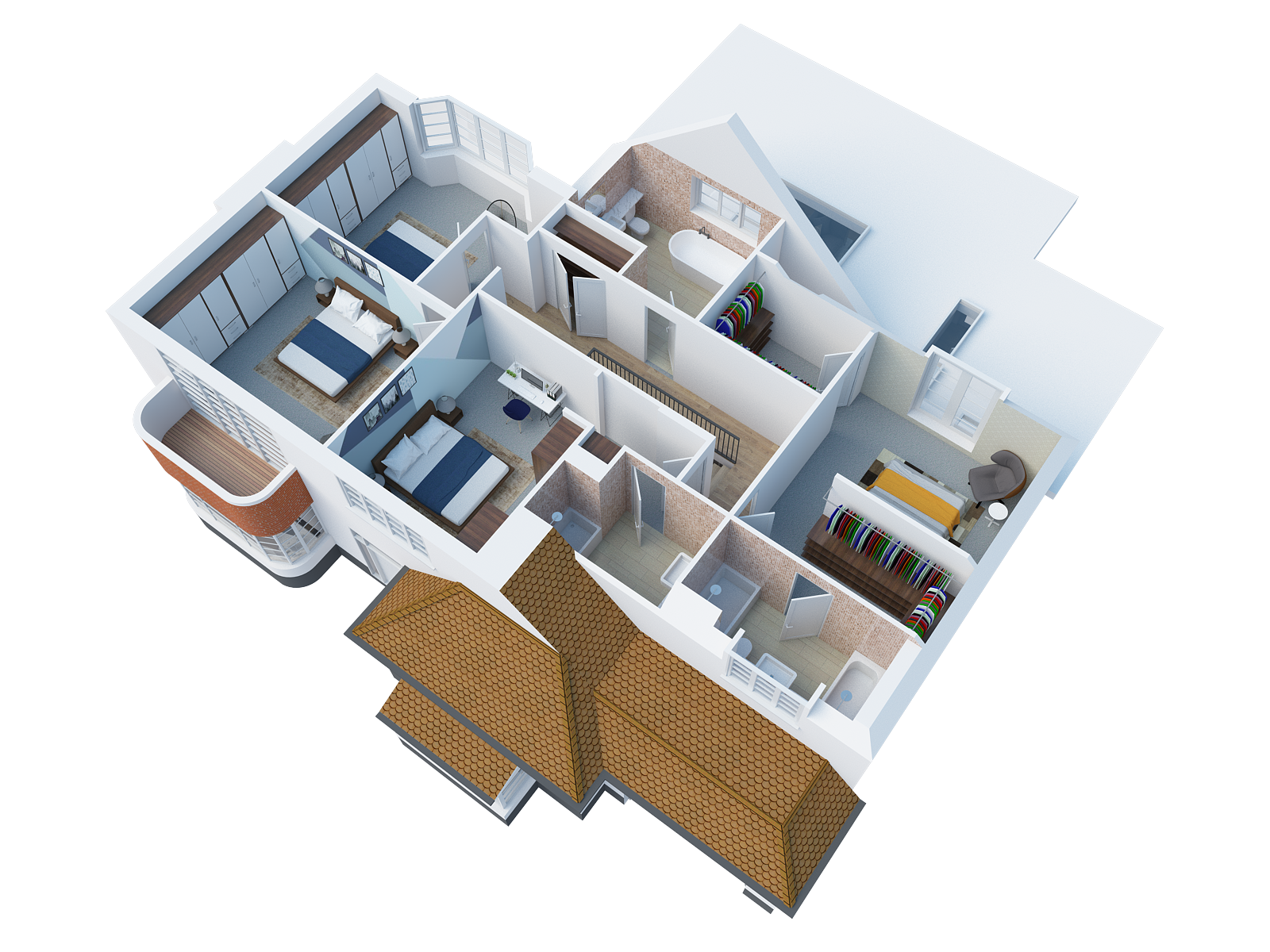 Architectural Desing in Goring Frist Floor 3D render.png