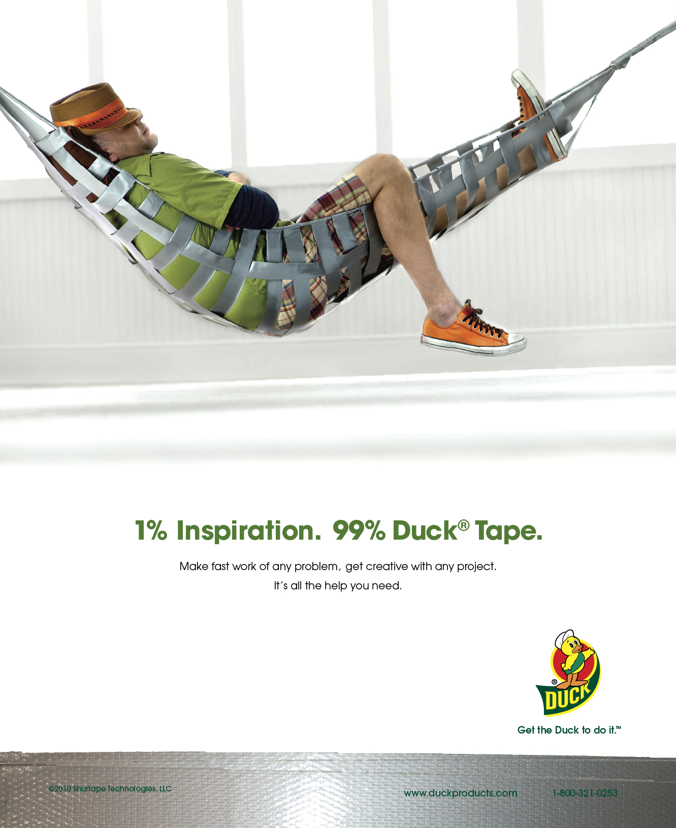 Duct Tape | Duck Tape Brand | Consumer Print Ad