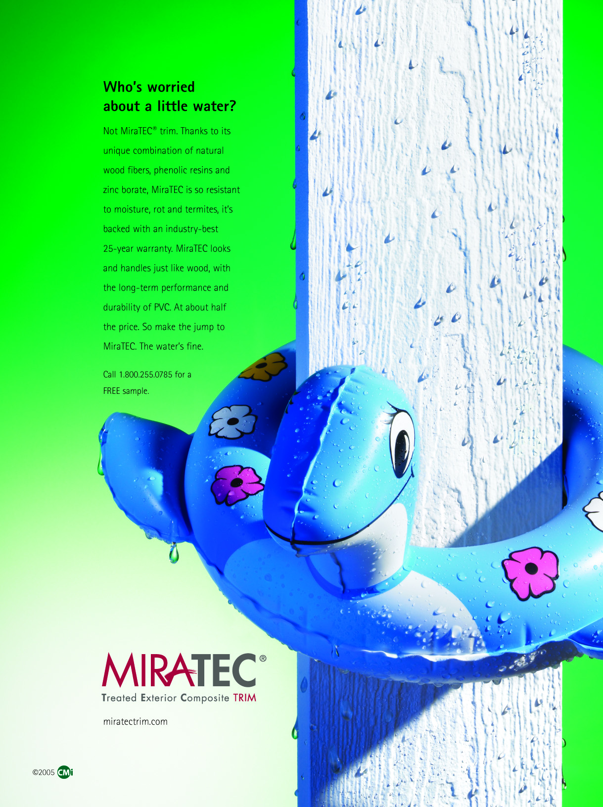 Exterior Composite | MiraTEC | Trade Ad Campaign