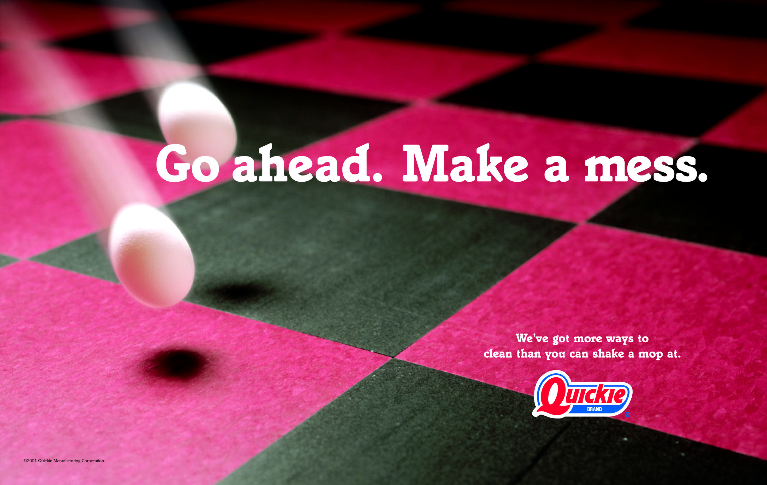 Quickie Brand | Ad Campaign