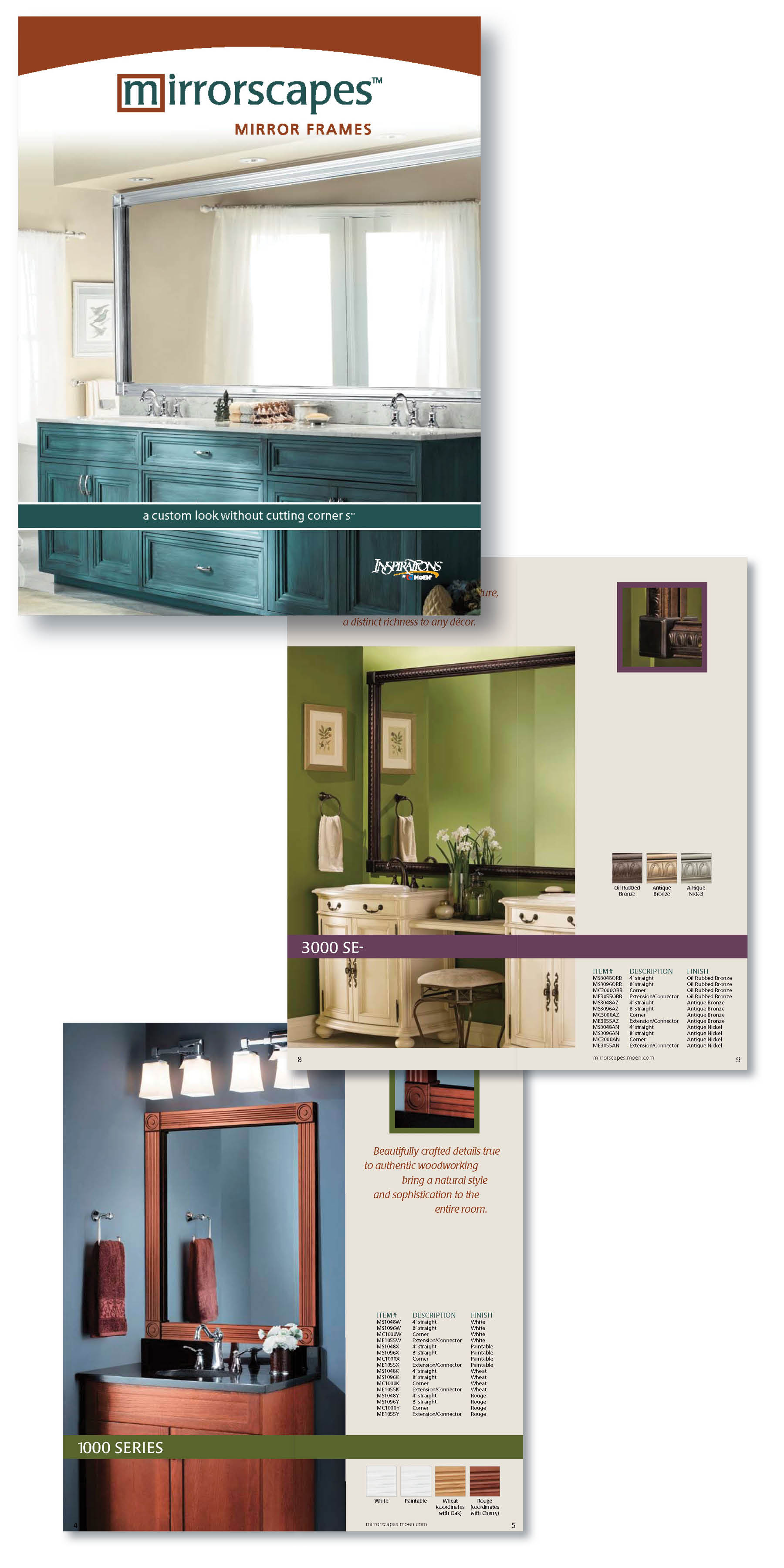 Mirrorscapes | Moen Inc | Catalog
