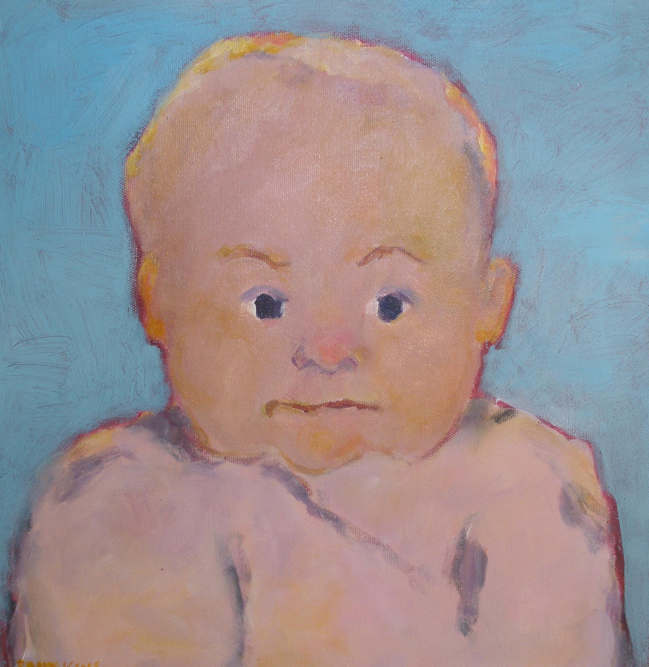 Junior, 14x14, Acrylic