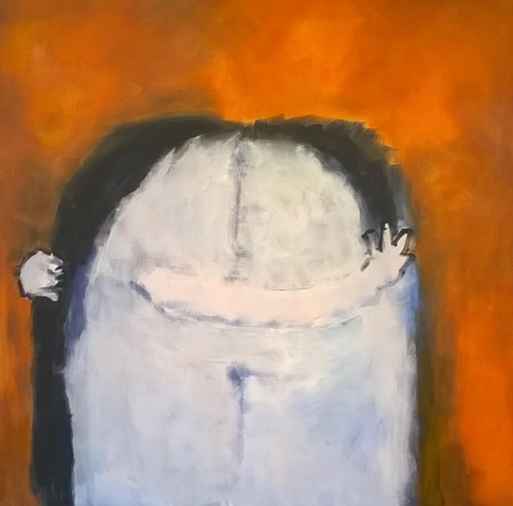 One Body, 42x42, acrylic