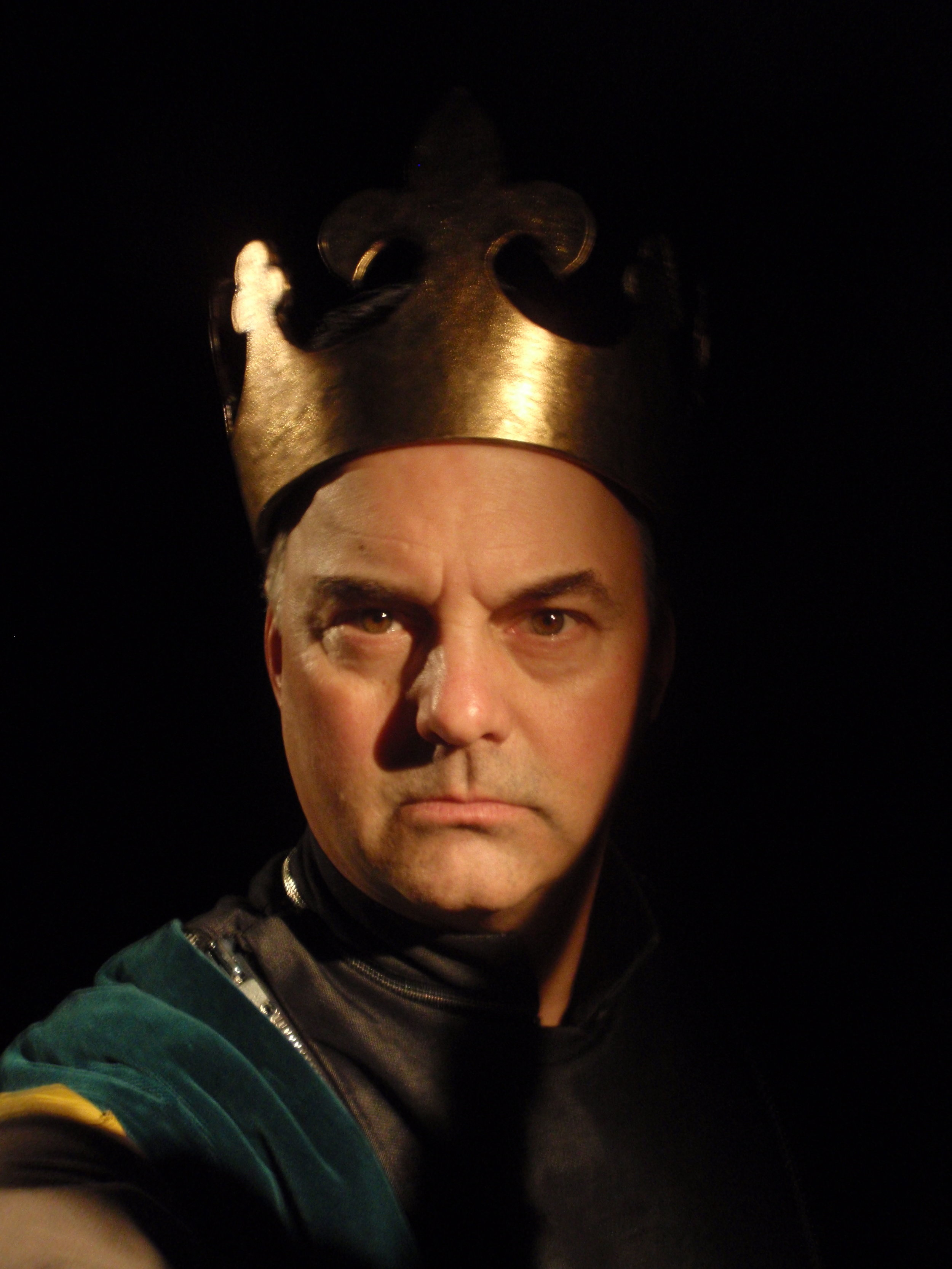 The King of France in  Henry V  for The Acting Company