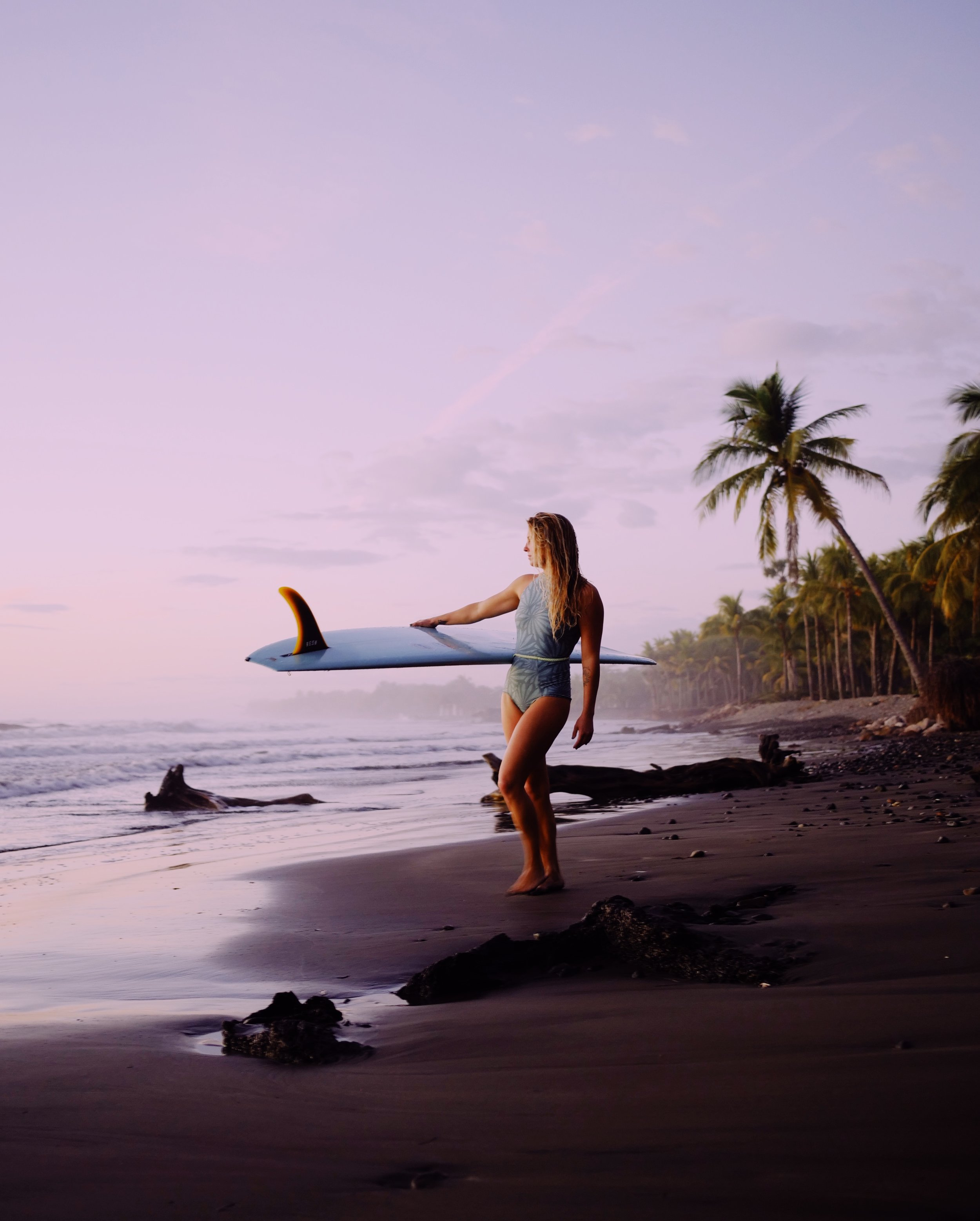 This was the first image I ever took of Karson - right after we both got out of the water on my first evening in Nicaragua. We've since become best of friends.