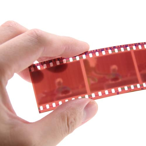 Digitize film negatives, all or just a few per strip