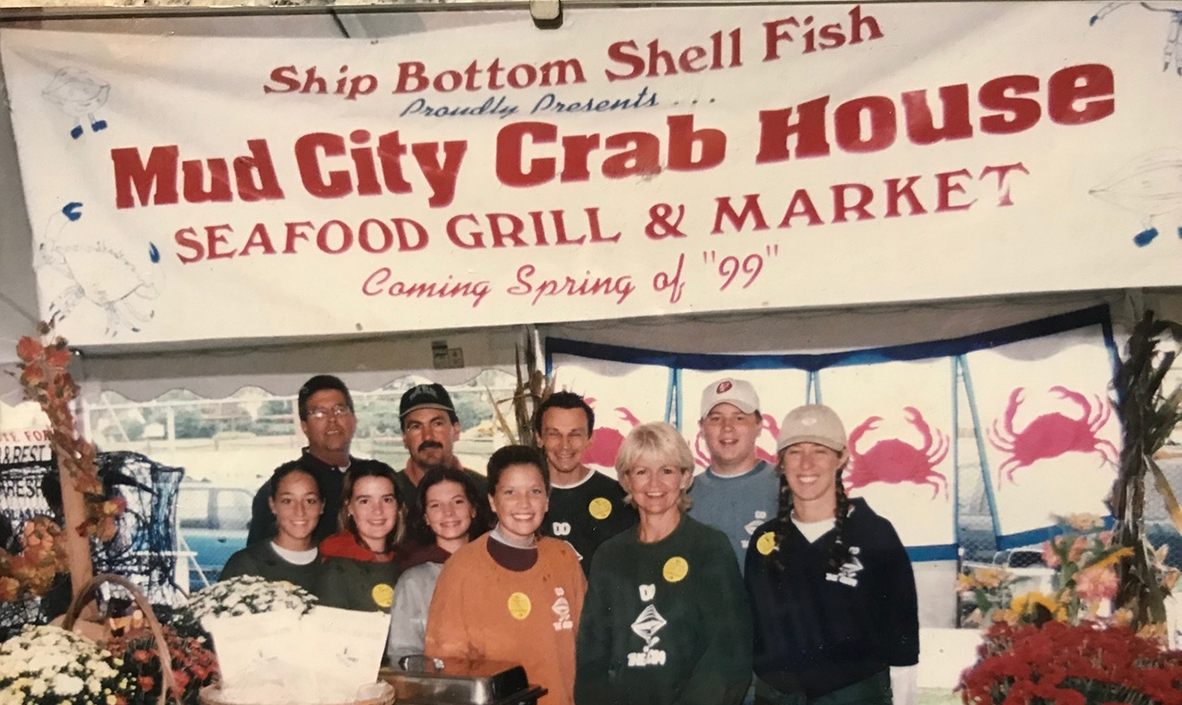 Chowderfest '98, just before we opened Mud City.