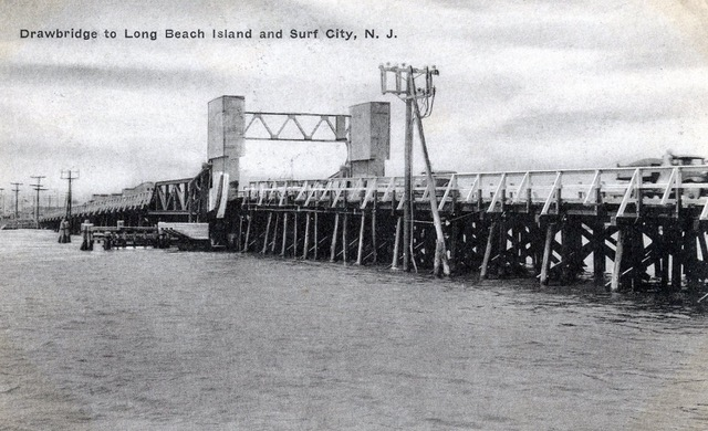 """Our Old Causeway Steak & Oyster House is built just two blocks from the original """"Old Causeway inn"""" named for the original bridge leading to LBI. There was a restaurant and mini golf course on the site before we built on Bay Ave. Photo courtesy of New Jersey Maritime Museum."""
