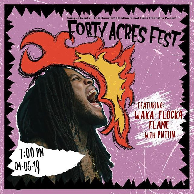 PNTHN WITH WAKA FLOCKA FLAME TN 2300 WHITIS AVENUE FOR THE FREE SET AT 7:15 PULL UP W YA RAINBOOTS