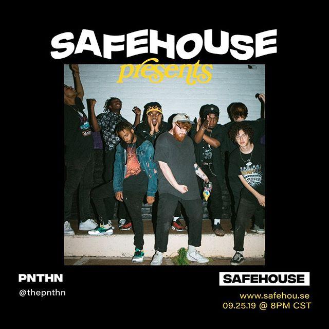 THE HOUSE AIN'T SAFE LIVE STREAM SET + INTERVIEW  9PM TOMORROW www.safehou.se