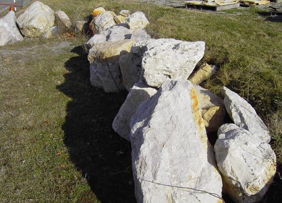 Michigan Limestone Boulder