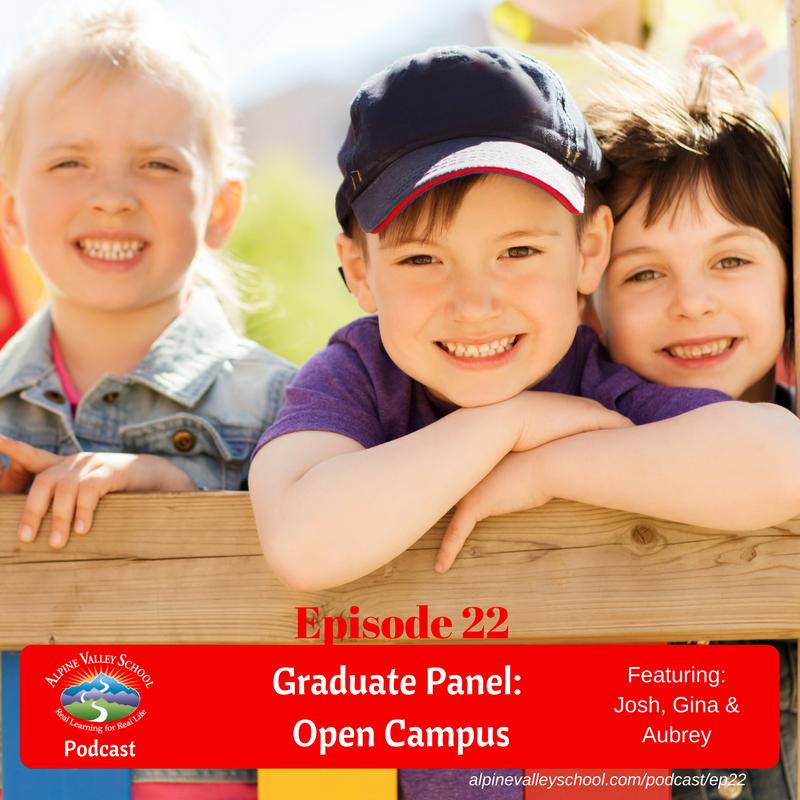 Graduate Panel on Open Campus
