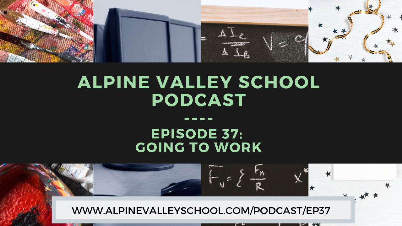 What sorts of careers do the students of self-directed democratic education have? How do they stand out in a competitive job market without grades or transcripts? These are the questions we tackle on episode 37 of the Alpine Valley School podcast. With the help of a panel of Alpine Valley School graduates, host Marc Gallivan explores the career options available to Sudbury school students as well as the outstanding contributions our graduates make once they enter the workforce.