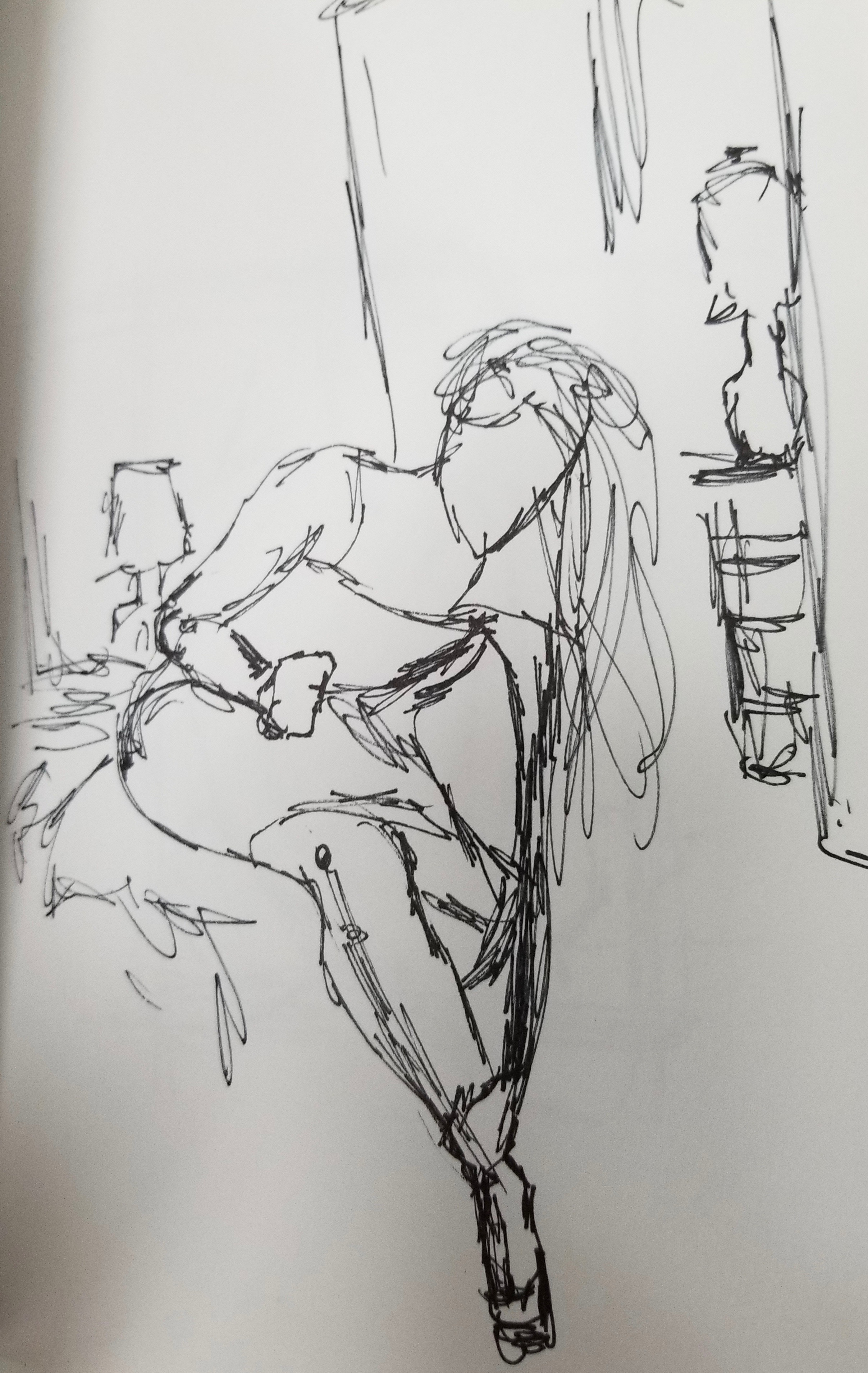 study for painting (Interior Series)
