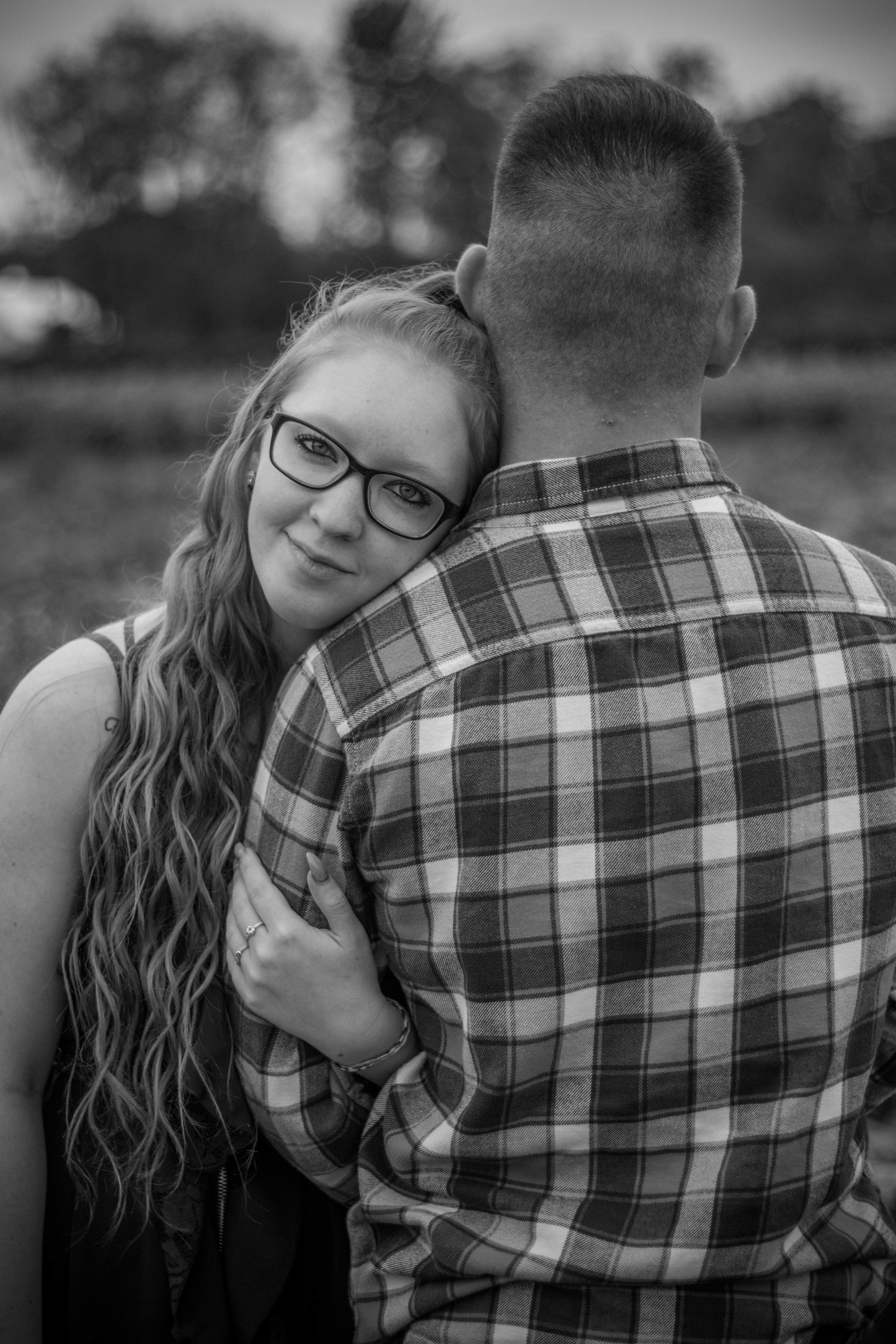 Couples Fall Portraits | Yellow Springs, Ohio Photographer