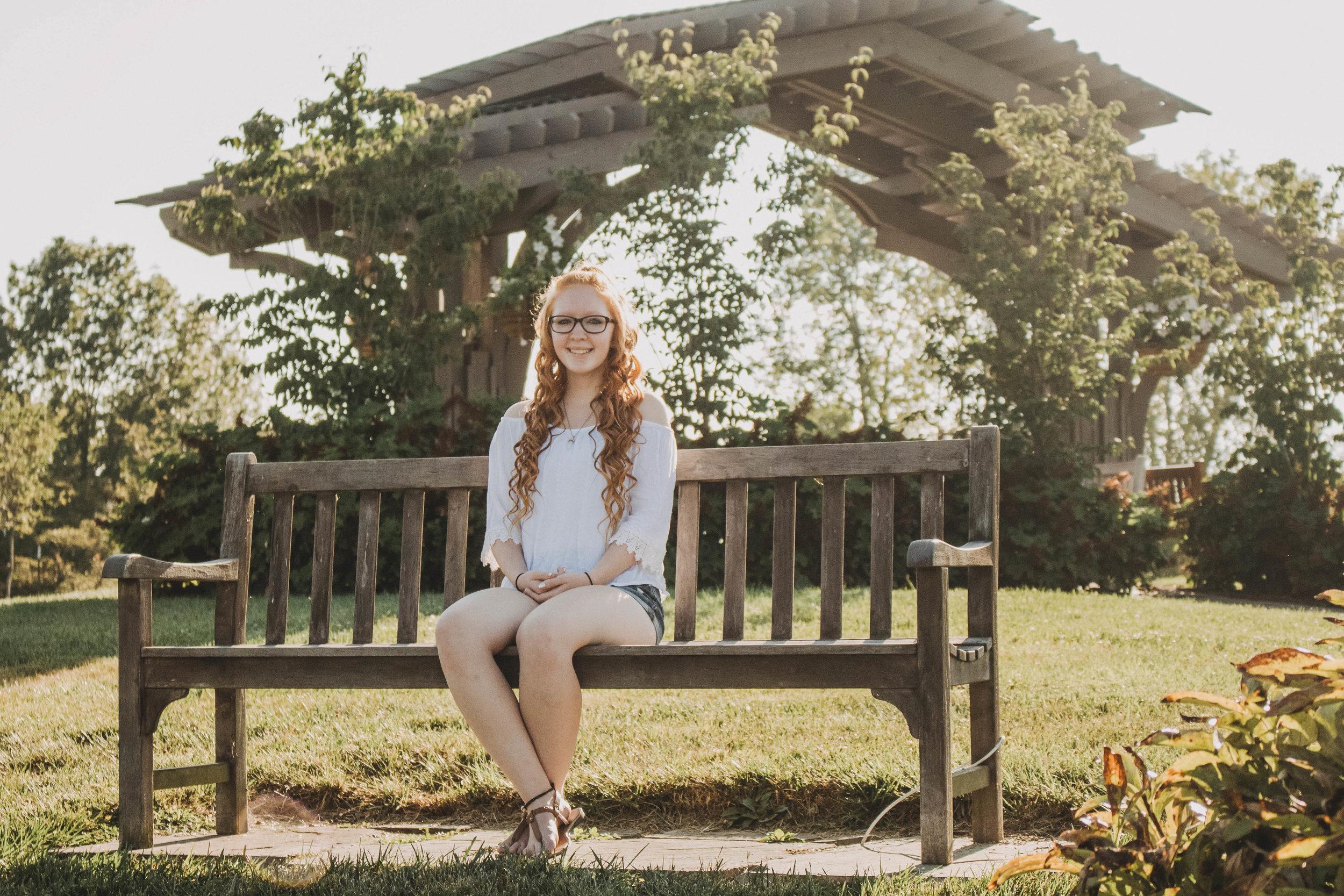Cox Arboretum MetroPark Senior Portraits | Miamisburg, Ohio Photographer