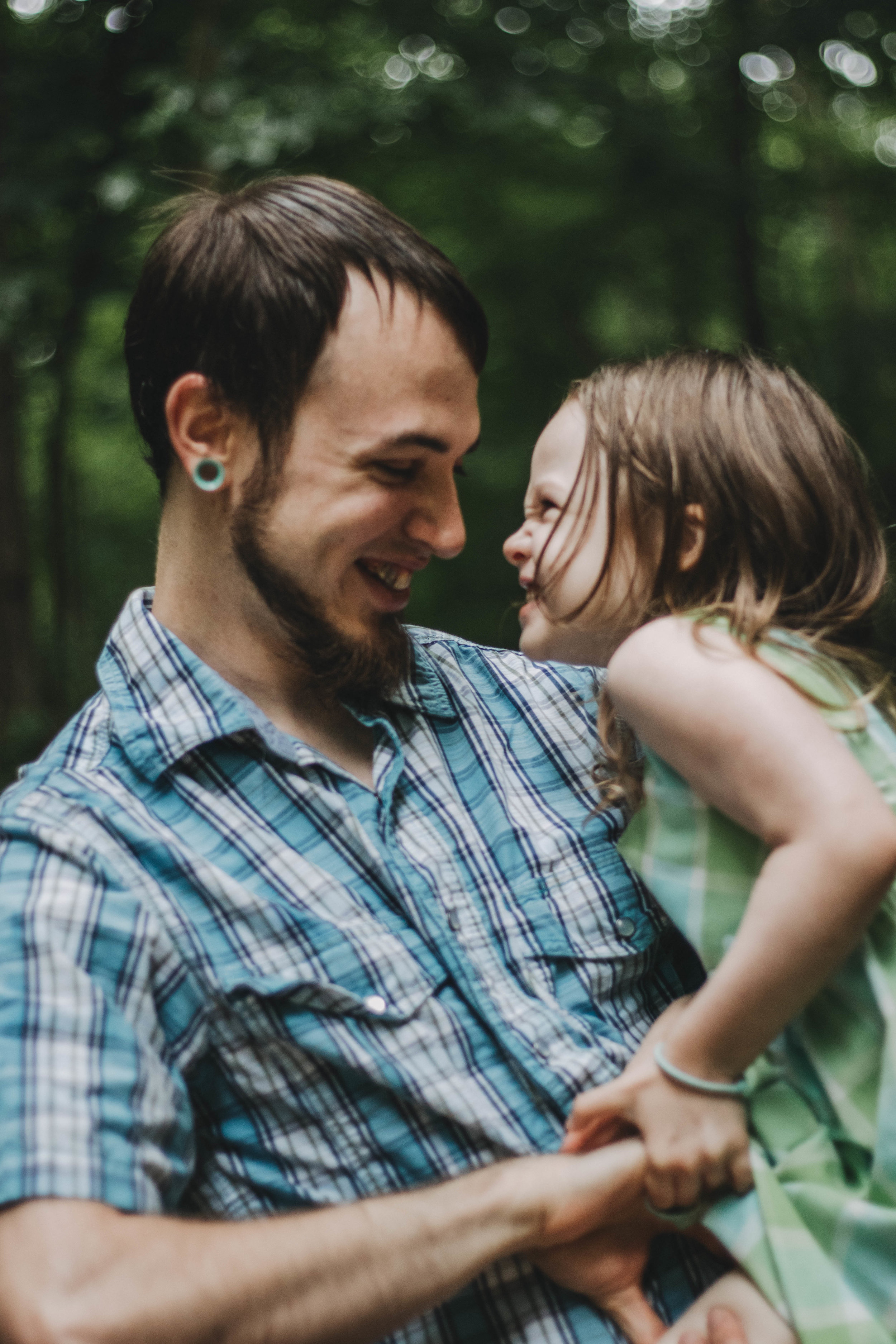Father-Daughter Portraits | Englewood, Ohio Photographer