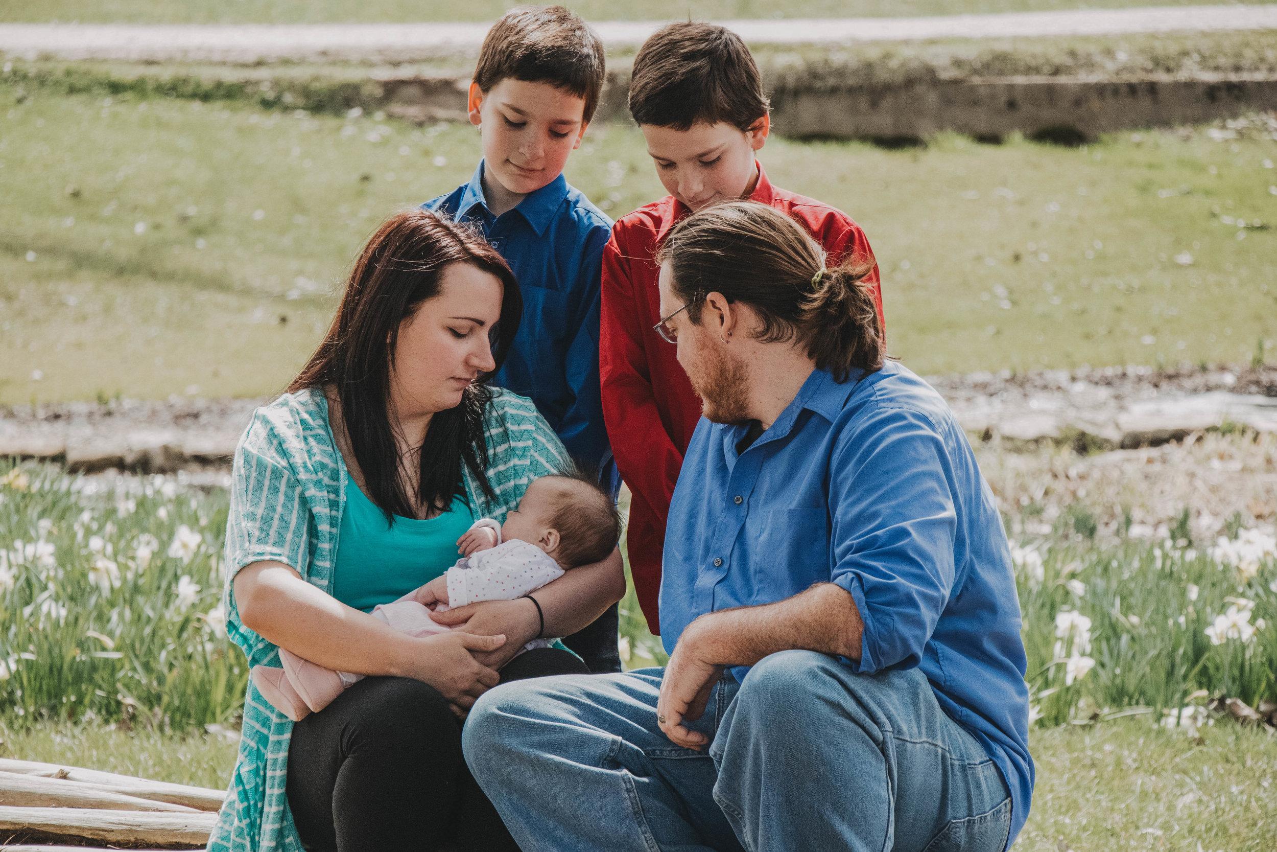 Cox Arboretum Family Portraits | Miamisburg, Ohio Photographer