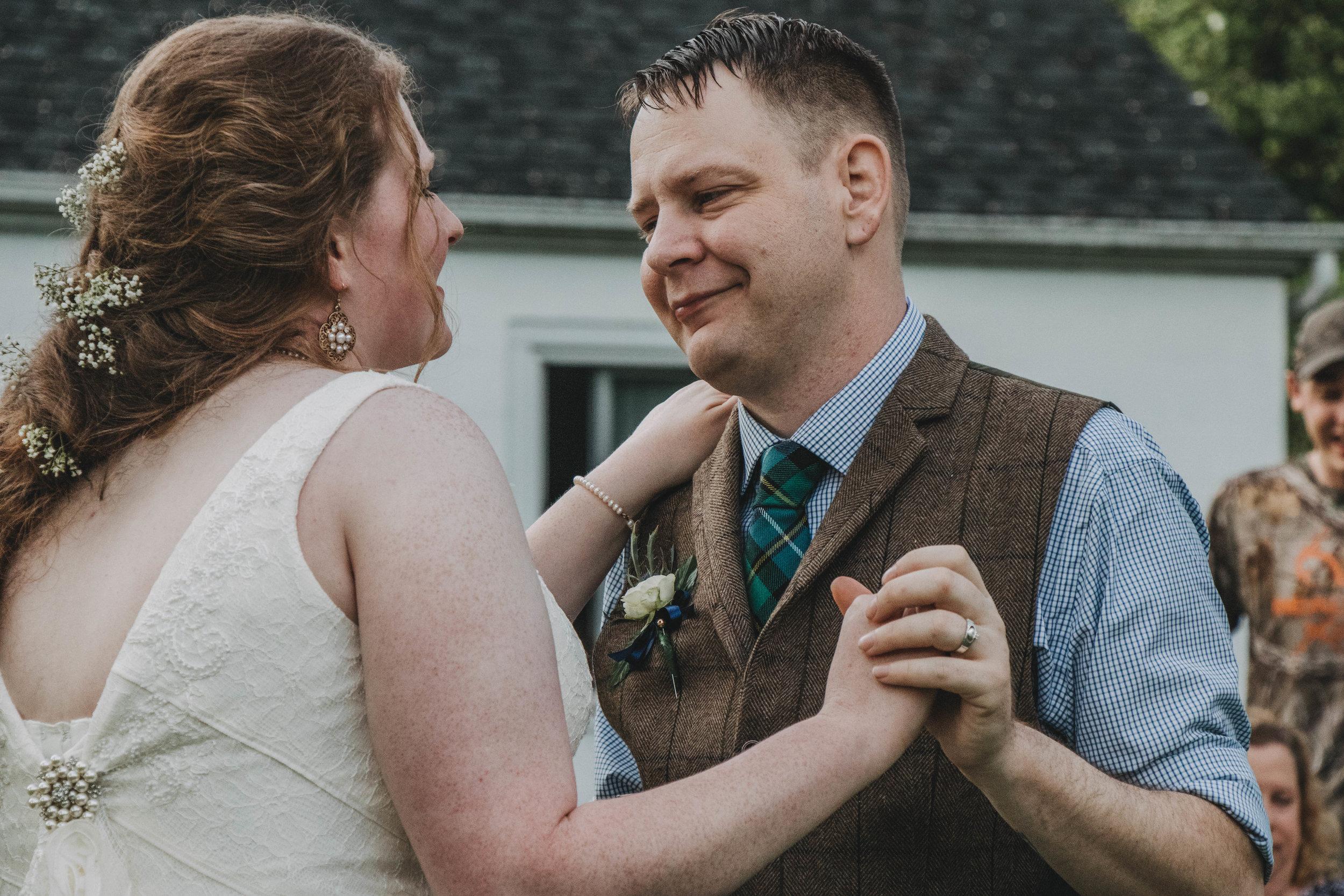 Intimate Backyard Celtic Wedding | Germantown, Ohio Photographer
