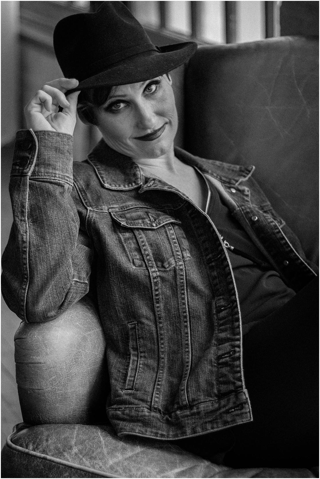 Alternative Styled Birthday Portraits | Something Old Dayton