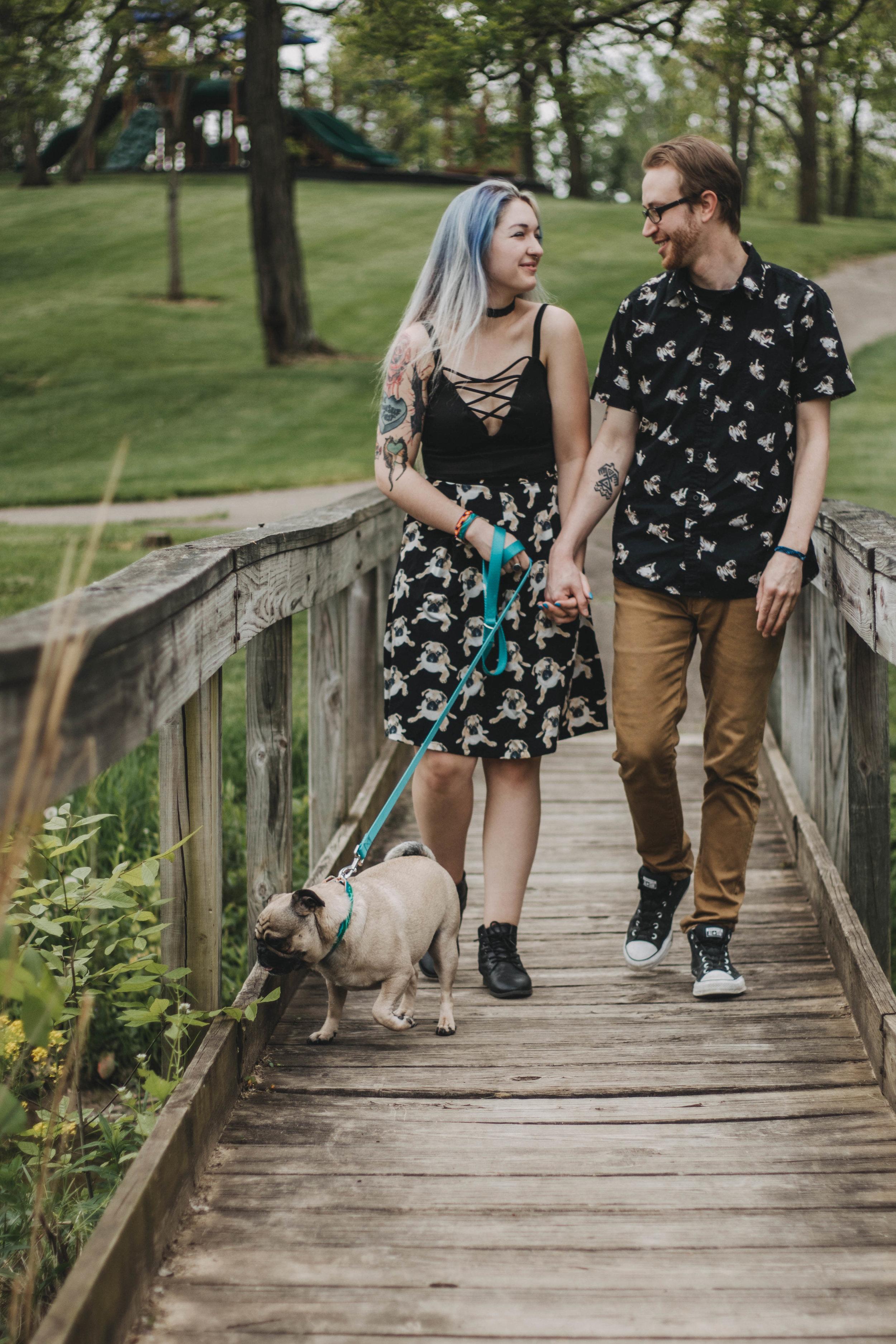 Couples Spring Portraits | Vandalia, Ohio Photographer
